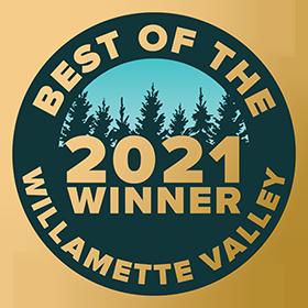 Best of the Willamette Valley - 2021 Gold Medal Winner